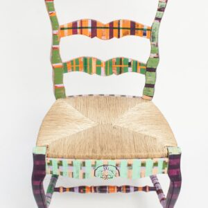 Michele Sherlock | Colorful Lines #17 Chair